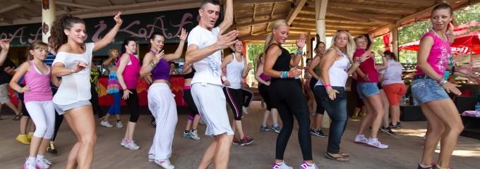 Zumba fitness čas, AfriKafe