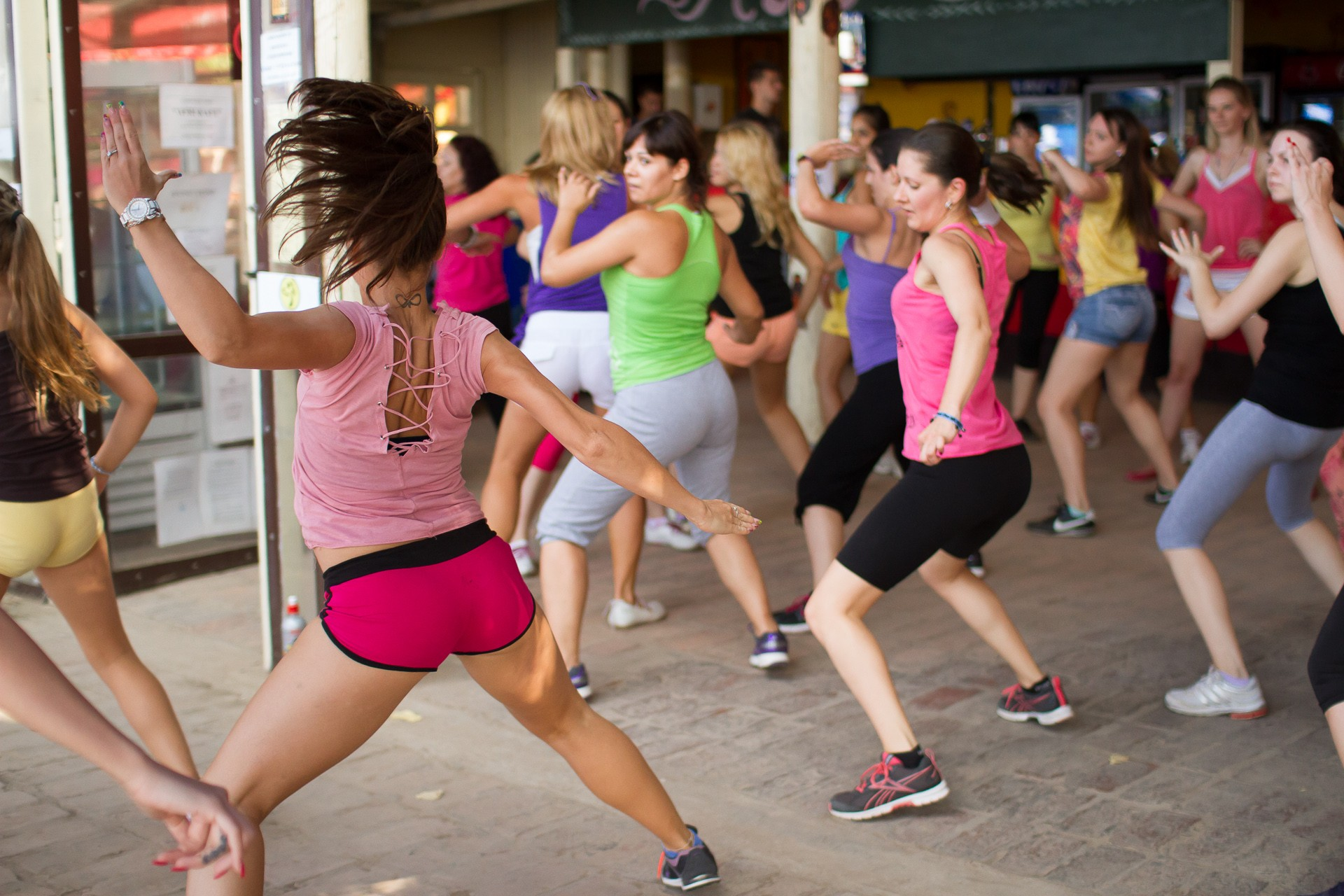 Zumba fitness AfriKafe video